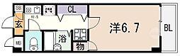 アンビエント八尾II[305号室]の間取り