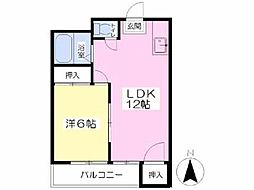 [一戸建] 愛媛県松山市室町2丁目 の賃貸【/】の間取り