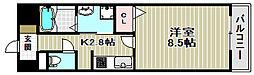 アーバンツァ[7階]の間取り