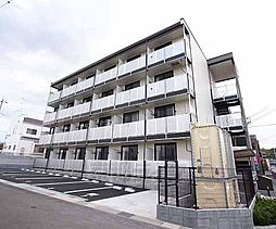 京都府京田辺市三山木田中の賃貸マンションの外観