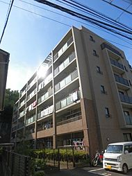 神奈川県川崎市高津区新作2丁目の賃貸マンションの外観