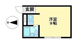 エクセルハイツ鶴舞[2階]の間取り