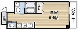 ブランケットビル[9階]の間取り