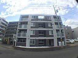 北海道札幌市豊平区平岸二条7丁目の賃貸マンションの外観