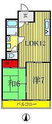 アビタシオン堀切[2階]の間取り