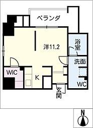 DOMUS&PLEASURE[9階]の間取り