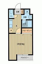 富士見プレイス[0101号室]の間取り