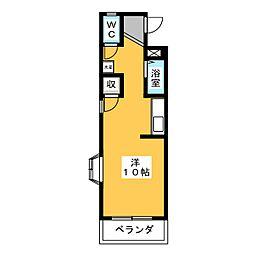 ロイヤルマンション花霞[2階]の間取り