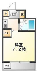 ラファエラ鳴尾II[3階]の間取り