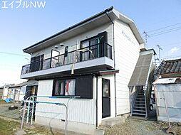 三重県松阪市安楽町の賃貸アパートの外観