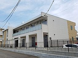 千葉県松戸市胡録台の賃貸アパートの外観