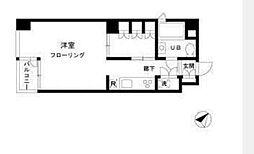 リーヴァ築地[7階]の間取り