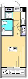 フェニックス国分寺[6階]の間取り