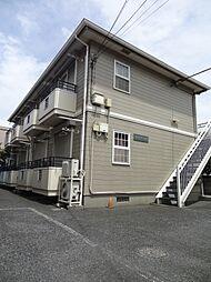 千葉県千葉市中央区椿森2丁目の賃貸アパートの外観