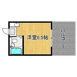 ハイツチヨヤ[305号室]の間取り