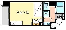 サングレート浅香新館[511号室]の間取り