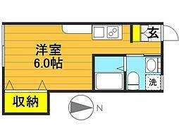 メゾン・ド・WAFU[1階]の間取り