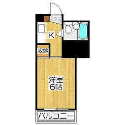 N.N.HOUSE[301号室]の間取り