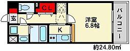 コモドパラッツォ[4階]の間取り