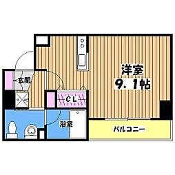 KDXレジデンス桜上水[2階]の間取り