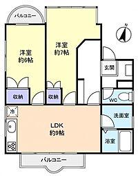 スペース1ビル[3階]の間取り