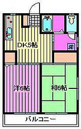 斉藤ハイツ[1階]の間取り