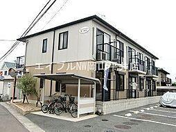 岡山県岡山市中区藤原西町2丁目の賃貸アパートの外観