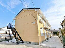 千葉県茂原市長尾の賃貸アパートの外観