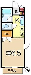 ベイハウスK[1階]の間取り