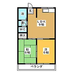 メゾン・ド・イズ[2階]の間取り