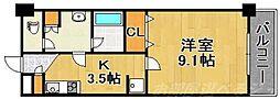 アヴィニールグランデ金田[8階]の間取り