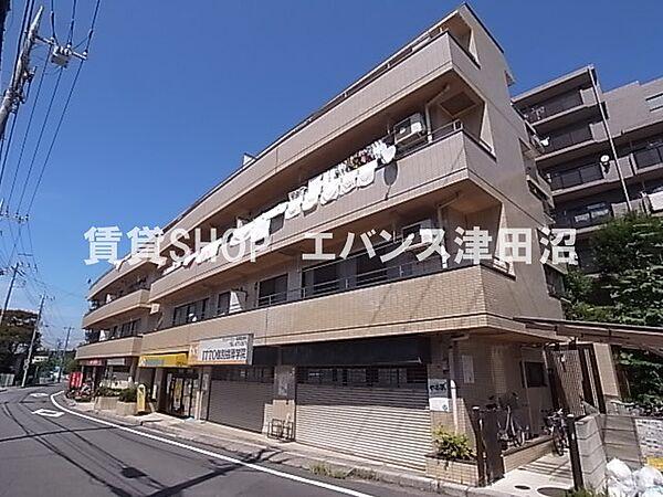 千葉県船橋市前原西6丁目の賃貸マンションの外観もきれいです