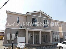 香川県綾歌郡綾川町陶の賃貸アパートの外観
