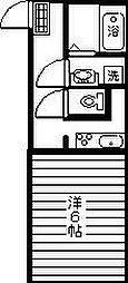TOWN21[302号室]の間取り