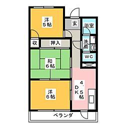 久納ビル[2階]の間取り