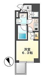 レジデンス千代田[4階]の間取り