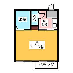 Village FUJIGAOKA[2階]の間取り