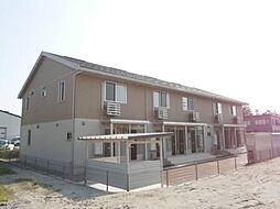 富山県富山市上冨居1丁目の賃貸アパートの外観