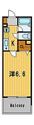 ロワール横濱鶴見[3階]の間取り