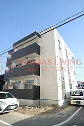 福岡県春日市大和町2丁目の賃貸アパートの外観