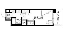 ルモンド西宮[220号室]の間取り