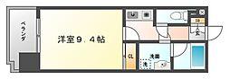 フォーラム美野島[5階]の間取り