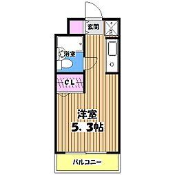プライムアーバン高井戸[3階]の間取り