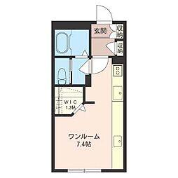 クリンゲル[1階]の間取り