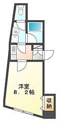 第一メイトビル[5階]の間取り