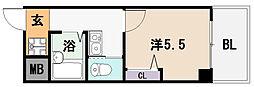 シティーライフ弥刀[3階]の間取り