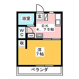 佐藤タウン1[1階]の間取り