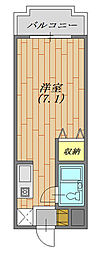 神奈川県横浜市緑区寺山町の賃貸マンションの間取り