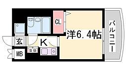 LM三宮東第2[4階]の間取り