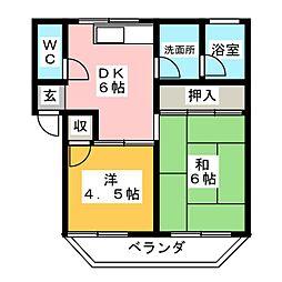 猪子石団地 3.5万円